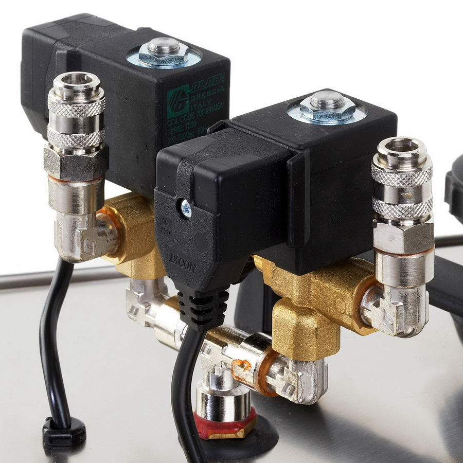 TWO SOLENOID VALVES