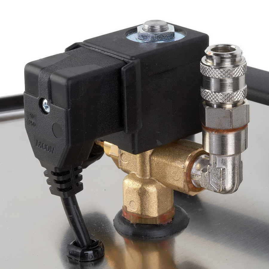 EXTERNAL SOLENOID VALVE WITH QUICK RELEASE