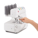 Singer 14J250 Stylist II Serger 2/3/4 Thread Capacity