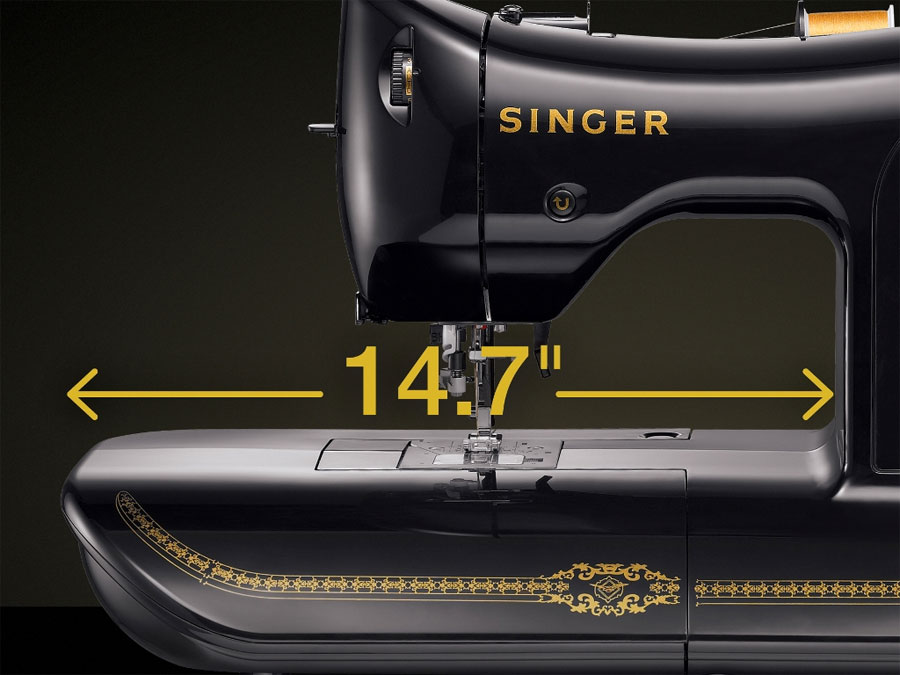 black singer sewing machine limited edition