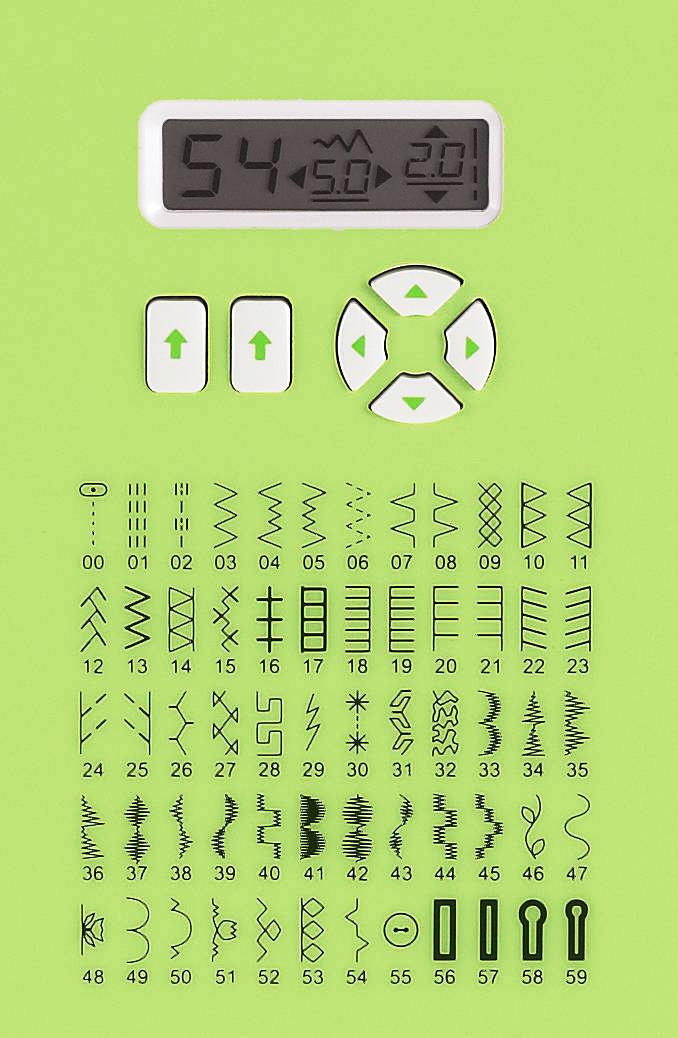 singer 5400 sew mate 60stitch sewing machine 5400