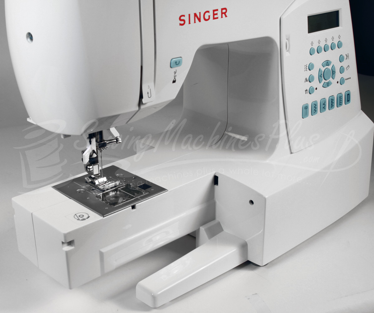 Singer 7430 Free Arm Capability.