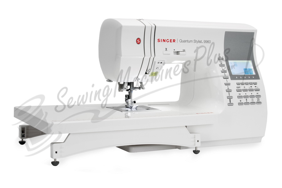 Singer Quantum Stylist 9960 Quilter Sewing Machine Free 5