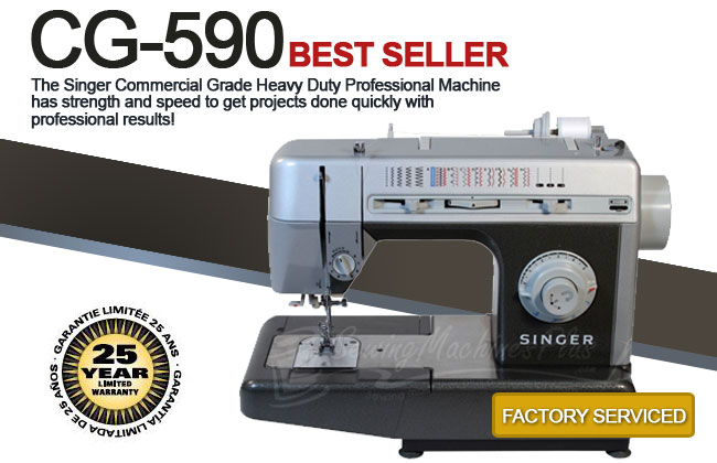 Singer CG590 Commercial Grade Sewing Machine.
