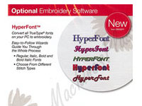 HyperFont software.