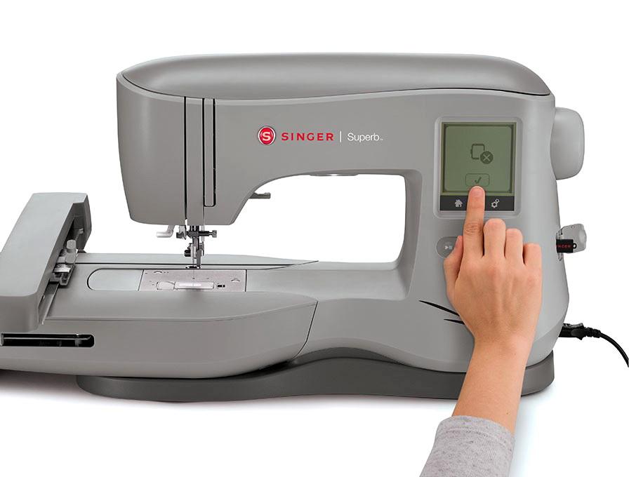 singer em200 superb embroidery machine