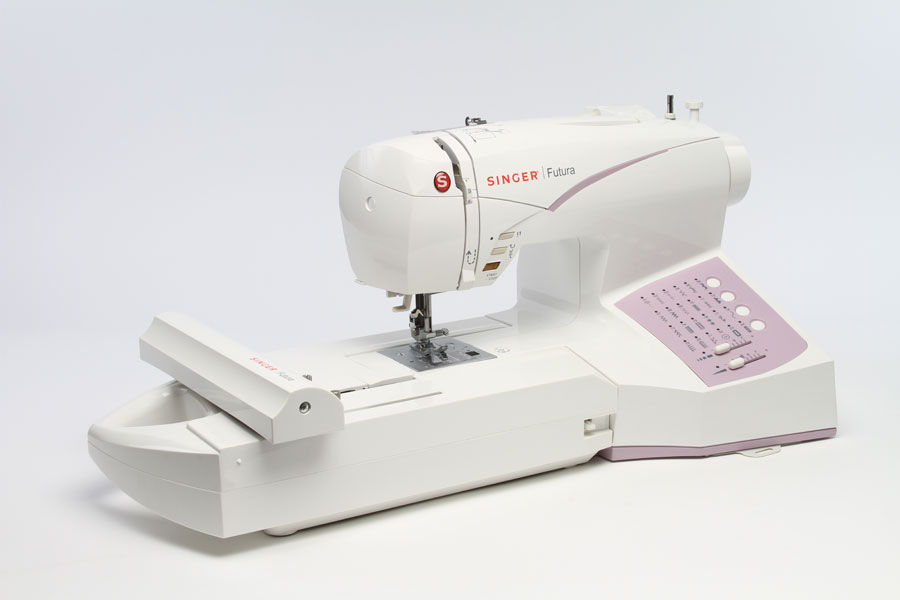 sewing machine with serger and embroidery