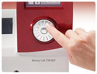 Tactile Jog Dial.