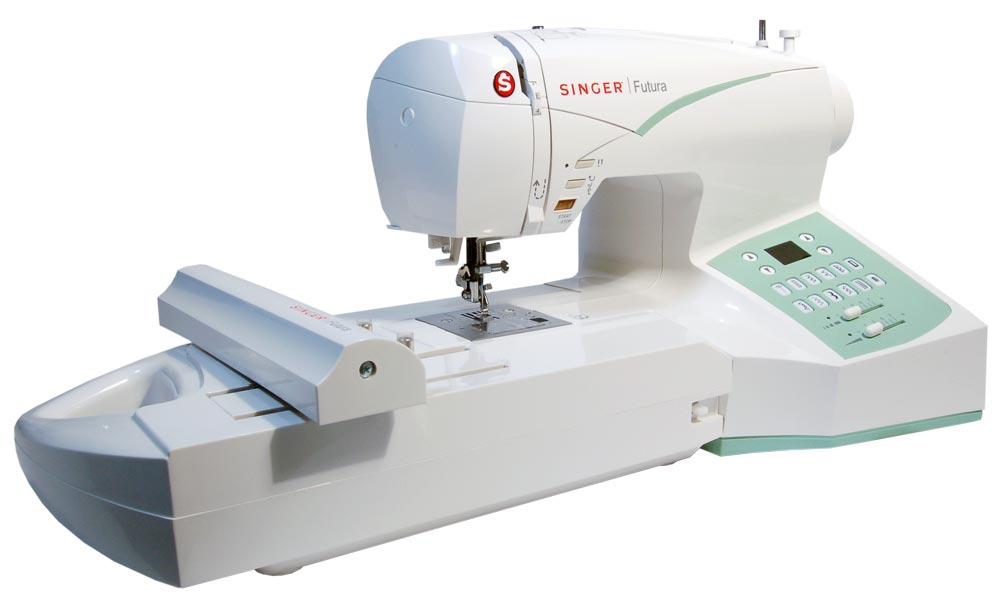 Singer futura ce embroidery machine