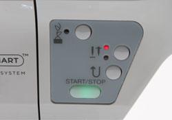 Singer Futura XL-400 Control Panel