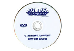 Floriani Stabilizing Soloutions with Kay Brooks DVD