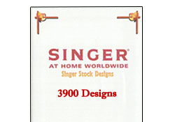 Singer Futura XL-400 3900 Designs