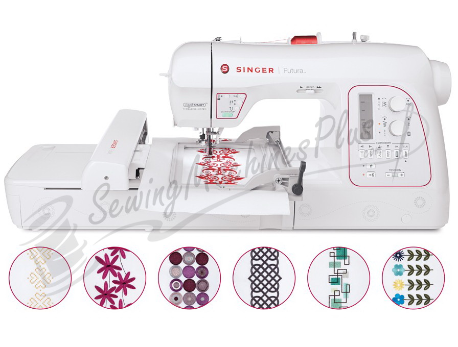singer embroidery machine designs