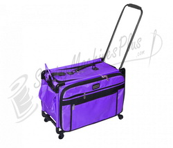 Click for Tutto Large Machine On Wheels Case - Purple