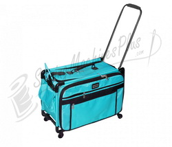 Click for Tutto Large Machine On Wheels Case - Turquoise