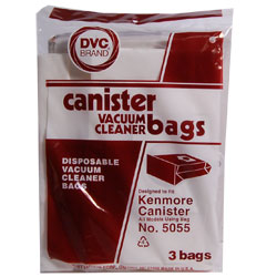 Dvc Disposable Vac Bags Kenmore Canister 5055