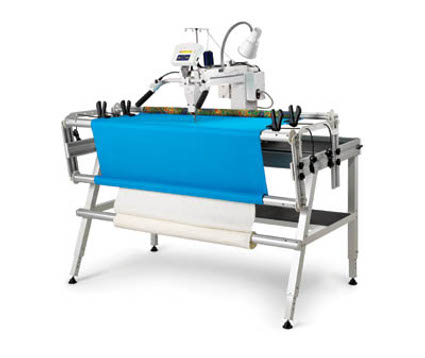 Husqvarna Viking Long Arm Quilting Machine.
