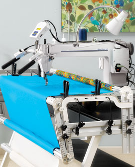 Viking Long Arm Quilting Machine.