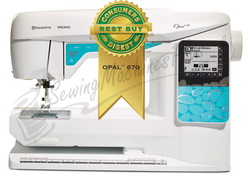 Husqvarna Viking Opal™ 670 Sewing Machine