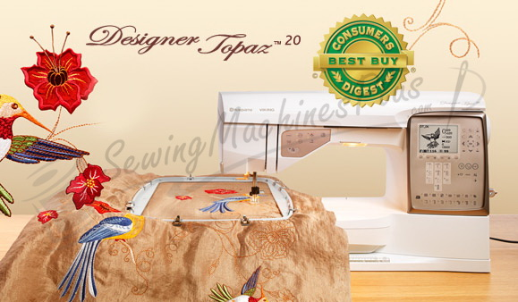 viking topaz 20 embroidery machine