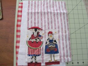 Country Kitchen Mug Rug.
