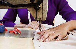 Sewing and tailoring and patterning are art forms, are skills that you can sustain you through life.