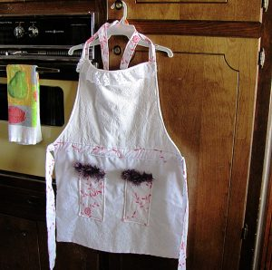 Elegant upscale apron