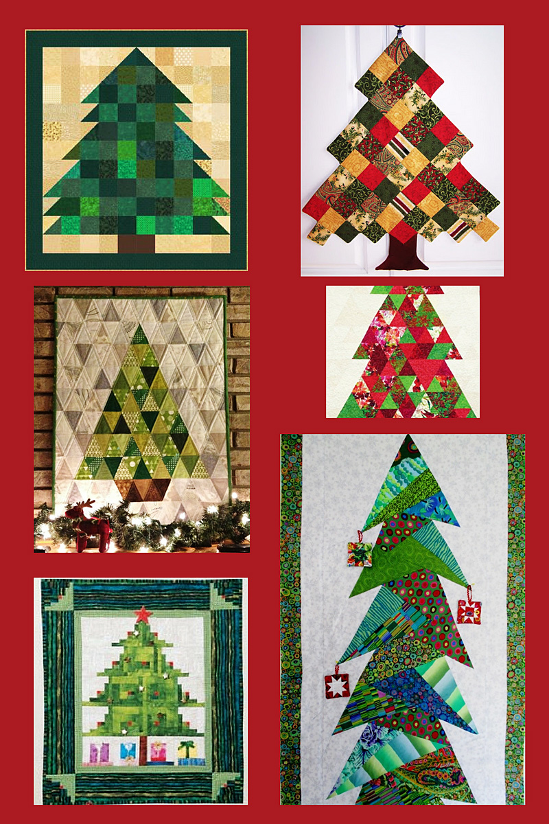 Inspiring Christmas Tree Patchwork Projects Sewingmachinesplus Com
