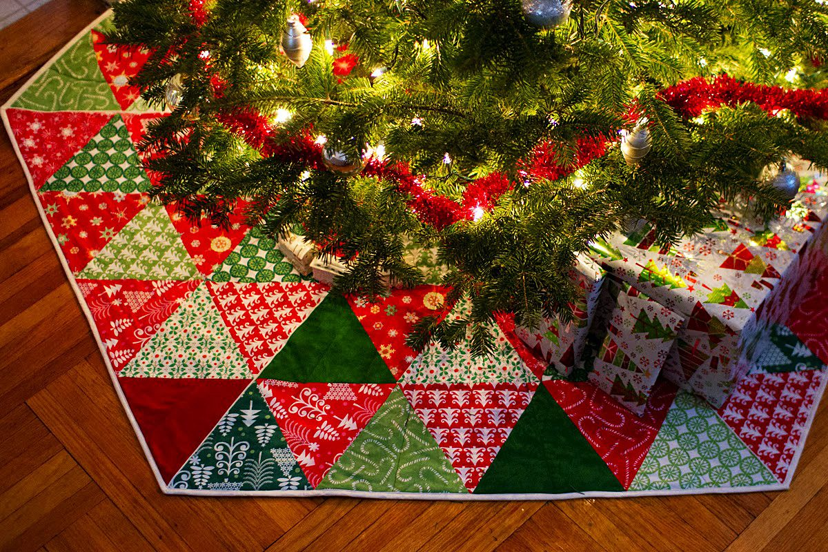 Tree Skirts and Fabric Blocks