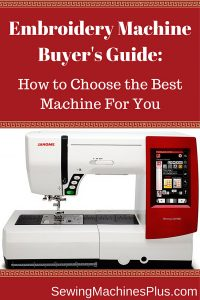 Which embroidery machine should you buy? Here's an embroidery machine buyer's guide to help you decide.