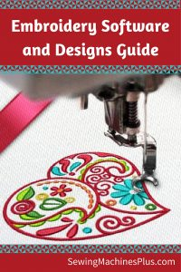 Embroidery Software Pin