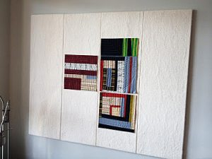 A quilt design area on your wall.