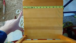 The first step in making custom cushions is accurate measurements.