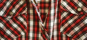 Forget the large plaids; small plaids are where it's at this year.