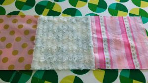 My girls & I are working on BFF quilts with alternating minky blocks.
