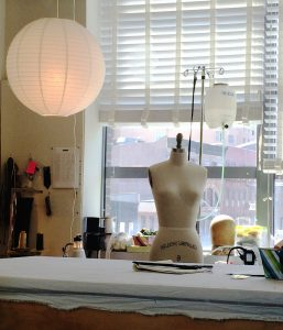 Unless I'm sewing in my lovely big-windowed space at Blindspot, I find that I'm constantly searching for more lamps.