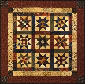 During that quilt-company semester, I came across the idea of a primitive quilt, which was a fairly new phrase to me.