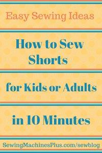 Sew Easy Shorts