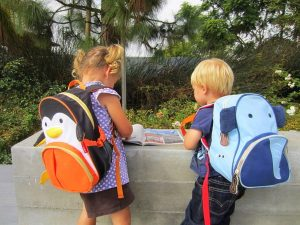 Have you seen these adorable little children's backpacks that look like animals?