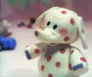 I never got over the toy elephant from Rudolph. Adorable!