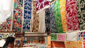 This booth in El Mercado de Artesanías was my favorite.
