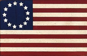 Betsy Ross risked everything to make the USA's first flag.