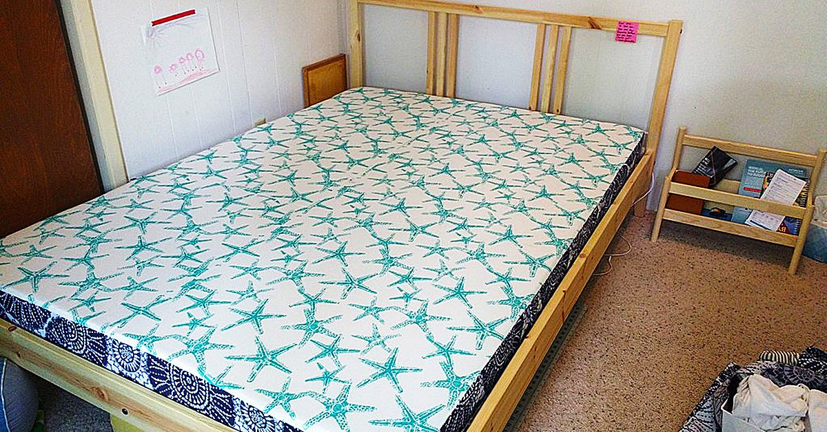 How to Sew a DIY Mattress Cover