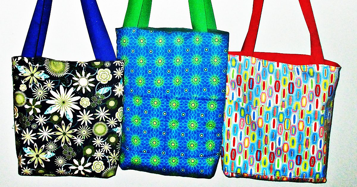 DIY: Reversible Tote Bag Tutorial