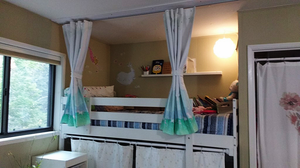 Bunk Bed Privacy Curtains Part 2 Sewingmachinesplus Com Blog
