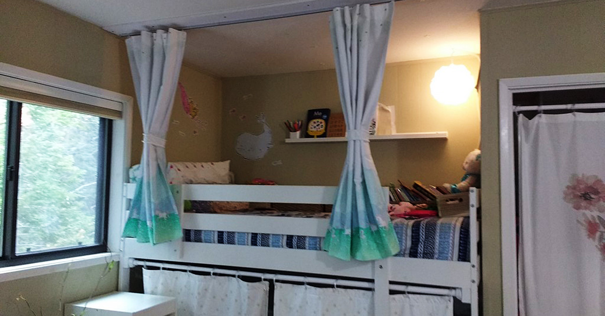 Bunk Bed Privacy Curtains (part 2)