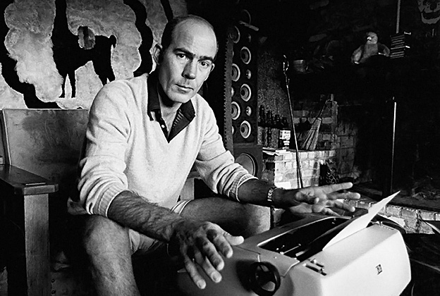 """As Hunter S. Thompson said, """"The TV business is uglier than most things. It is normally perceived as some kind of cruel and shallow money trench through the heart of the journalism industry, a long plastic hallway where thieves and pimps run free and good men die like dogs, for no good reason."""""""